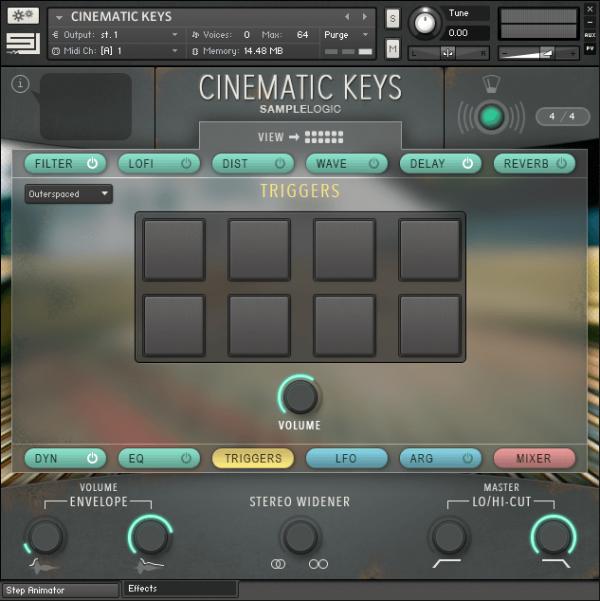 Cinematic Keys by Sample Logic