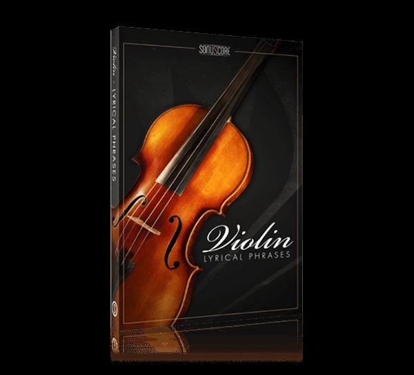 lyrical violin phrases