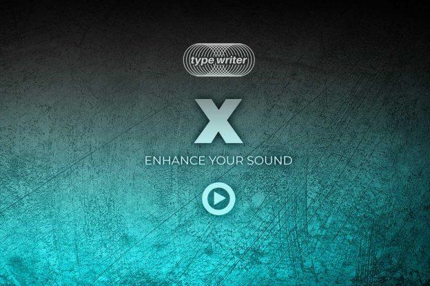 x type writer audio