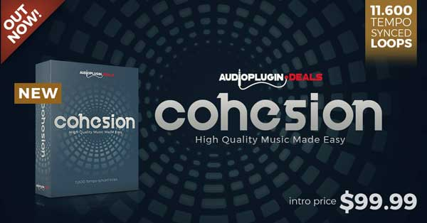 cohesion by audio plugin deals