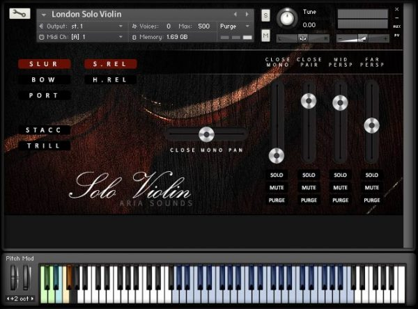 LSS Solo Strings by Aria Sounds