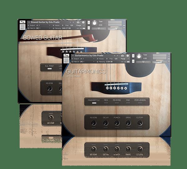 Extended Guitar Bundle by Edu Prado Sounds