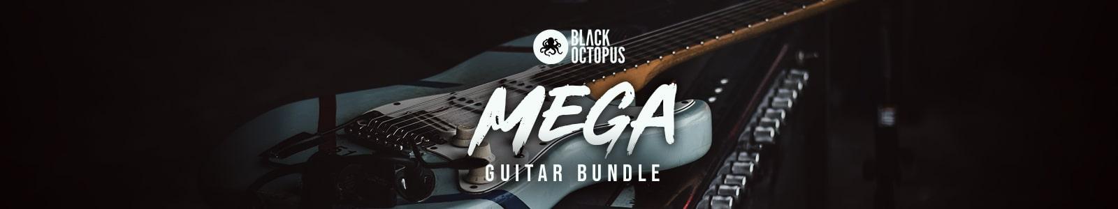 mega guitar bundle by black octopus